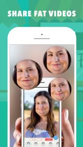 اسکرین شات برنامه Fatify - Make Yourself Fat App 4