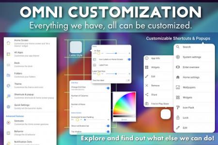 اسکرین شات برنامه PSOL Launcher - Pixel Style Omni Launcher 2