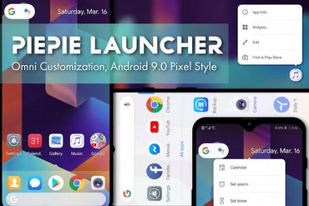اسکرین شات برنامه PSOL Launcher - Pixel Style Omni Launcher 1
