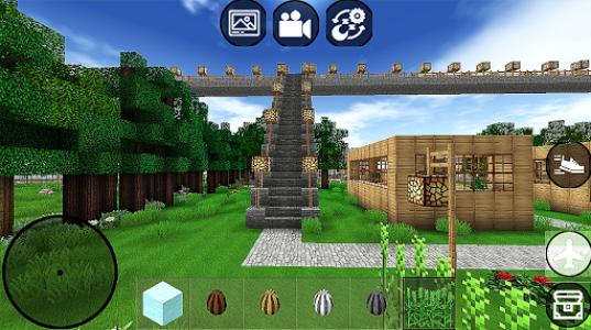 اسکرین شات بازی Minicraft Block Crafting 3D Game 1