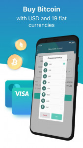 اسکرین شات برنامه Freewallet: Bitcoin & Crypto Blockchain Wallet 6