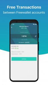 اسکرین شات برنامه Freewallet: Bitcoin & Crypto Blockchain Wallet 7