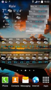 اسکرین شات برنامه Weather ACE 7