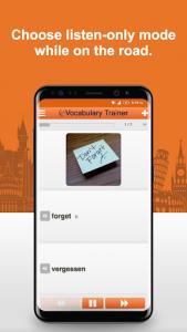 اسکرین شات برنامه Learn German Vocabulary Free 3