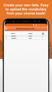 اسکرین شات برنامه Learn German Vocabulary Free 7