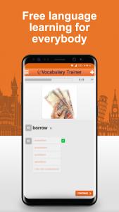 اسکرین شات برنامه Learn German Vocabulary Free 5