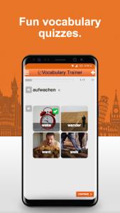 اسکرین شات برنامه Learn German Vocabulary Free 2