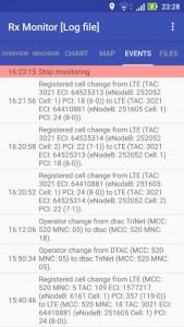 اسکرین شات برنامه Rx Monitor 6