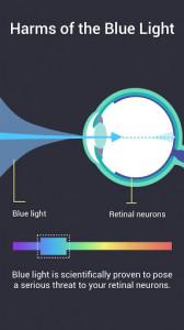 اسکرین شات برنامه Night Shift - Bluelight Filter for Good Sleep 2