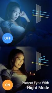 اسکرین شات برنامه Night Shift - Bluelight Filter for Good Sleep 1