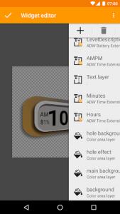 اسکرین شات برنامه ADW Launcher 2 8
