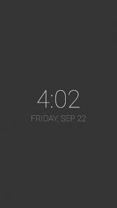 اسکرین شات برنامه KLCK Kustom Lock Screen Maker 1