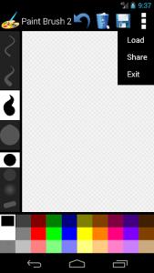 اسکرین شات برنامه Paint Brush 2 4