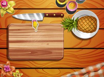 اسکرین شات بازی پخت کیک میوه ای 2