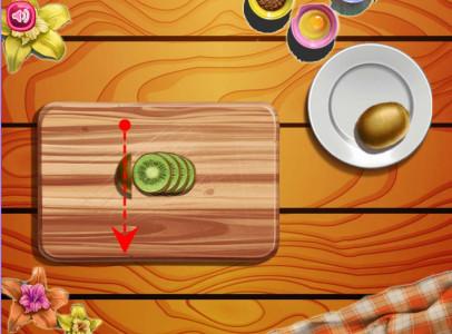 اسکرین شات بازی پخت کیک میوه ای 4