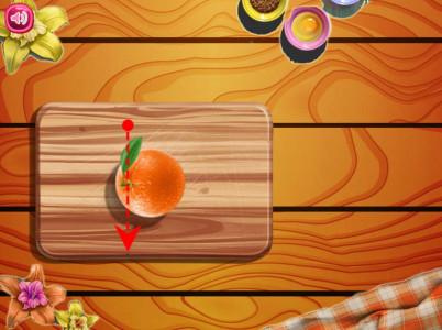 اسکرین شات بازی پخت کیک میوه ای 3
