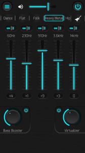 اسکرین شات برنامه Best Equalizer, Bass Booster & Virtualizer 6