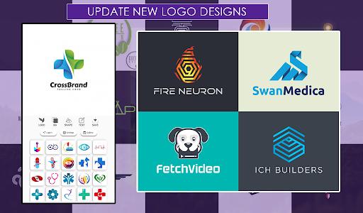 اسکرین شات برنامه Logo Maker Free 5