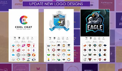 اسکرین شات برنامه Logo Maker Free 3