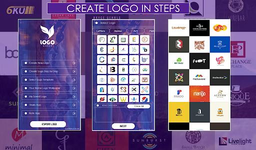 اسکرین شات برنامه Logo Maker Free 1