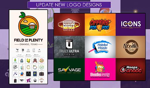 اسکرین شات برنامه Logo Maker Free 7