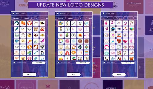 اسکرین شات برنامه Logo Maker Free 2