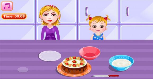 اسکرین شات بازی آشپزی پخت کیک شکلاتی 4