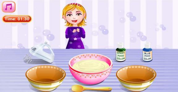 اسکرین شات بازی آشپزی پخت کاپ کیک 3