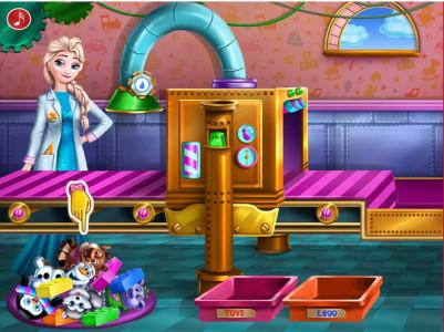 اسکرین شات بازی اسباب بازی های السا خانوم 2