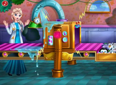 اسکرین شات بازی اسباب بازی های السا خانوم 4