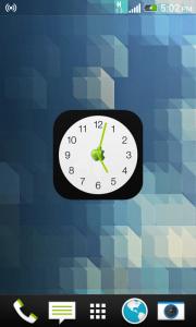 اسکرین شات برنامه ویجت ساعت اپل 2