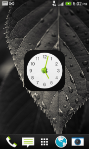 اسکرین شات برنامه ویجت ساعت اپل 3