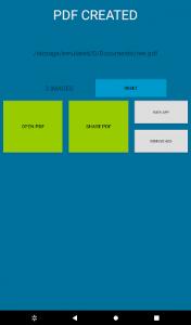 اسکرین شات برنامه EasyPDF - images to PDF converter fast and easy 6
