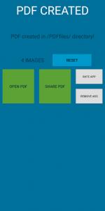 اسکرین شات برنامه EasyPDF - images to PDF converter fast and easy 3