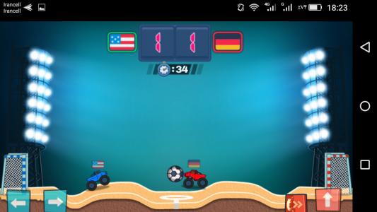 اسکرین شات بازی ماشین فوتبالی 2