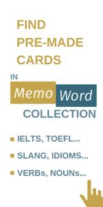 اسکرین شات برنامه Card maker for my words to learn. Vocab builder 8