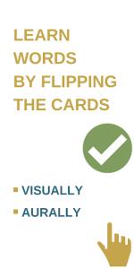 اسکرین شات برنامه Card maker for my words to learn. Vocab builder 4