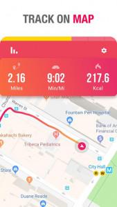 اسکرین شات برنامه Running to Lose Weight - Running App & Map Runner 2
