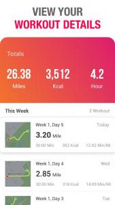 اسکرین شات برنامه Running to Lose Weight - Running App & Map Runner 3
