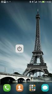 اسکرین شات برنامه دکمه خاموش کردن صفحه (ویجیت) 6