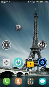 اسکرین شات برنامه دکمه خاموش کردن صفحه (ویجیت) 5