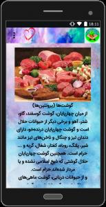اسکرین شات برنامه غذاها در فرهنگ اسلام 3