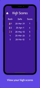 اسکرین شات بازی حدس کلمات انگلیسی Hangman 4