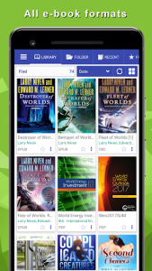 اسکرین شات برنامه TTS Reader - reads aloud books, all books! 2