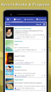 اسکرین شات برنامه TTS Reader - reads aloud books, all books! 4