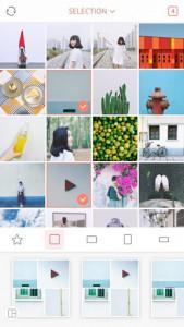 اسکرین شات برنامه April - Camera360 cute Layout and Template 1