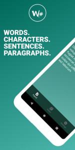 اسکرین شات برنامه Word Counter - Count Words, Sentences & Paragraphs 1