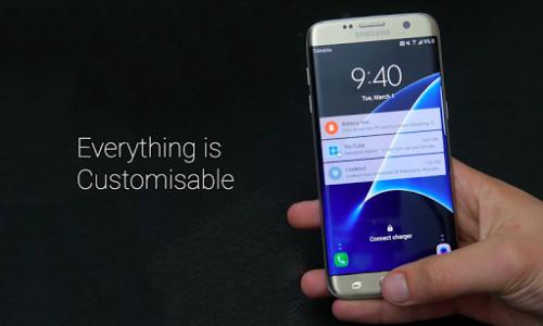 اسکرین شات برنامه Theme For Galaxy S7 Edge 3